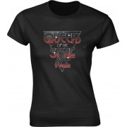 Queens Of The Stone Age Retro Space Womens T-Shirt XL