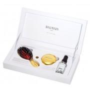 Balmain Luxury Brush + 24 Carat Gold Mirror Mini + Silk Perfume 50ml