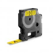 Etichete autocolante DYMO LabelManager D1 12mm x 7m negru galben 45018 S0720580