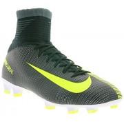 Nike Jr Mercurial Superfly V CR7 852483-376 Seaweed/White Kids Soccer cleats (5 Big Kid M)