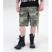 pantaloncini uomo MIL-TEC - Parà - Prewash Woodland - 11403020
