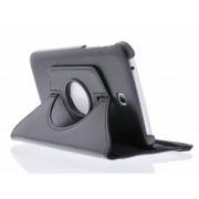 Zwarte 360° draaibare tablethoes voor de Samsung Galaxy Tab 3 7.0