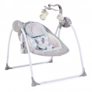 Cangaroo Ljuljaška za bebe Baby Swing Siva (CAN7126)