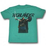 tricou cu tematică de film bărbați HIGHLANDER - Come At Me - AMERICAN CLASSICS - HL519