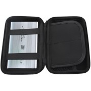 Harde Schijf Hard Cover Tas - Externe HDD / SDD Hoes - Harddisk Beschermhoes Carry Case - 2.5 Inch - Zwart