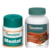 Pachet Bacopa Memory Wellness x 60 capsule + Mentat x 50 comprimate Himalaya