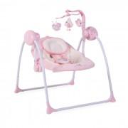 Muzička ležaljka za bebe Swing roze