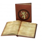 SD TOYS Game Of Thrones Lannister Notebook W/ Lt Taccuino