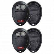 KeylessOption Just the Case Keyless Entry Remote Key Fob Shell For L2C0007T (Pack of 2)