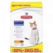 Hill's Active Longevity Mature/Senior poulet pour chat 2 kg