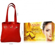 Pack of 2 Gold Facil Kit Multi Color Hand Bag-Adbeni