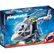 Playmobil 6921 Police-Helikopter mit LED-Suchscheinwerfer