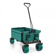 Waldbeck THE GREEN ръчна количка тролей сгъваема 70кг 90л широки колела 10см зелена (WGO-The Green)