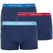 Tommy Hilfiger 3PACK pánské boxerky Tommy Hilfiger tmavě modré (1U87903842 045) XXL