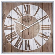 Maisons du monde Reloj con impresión blanco 90x90 cm VANOLA