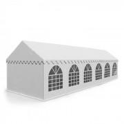 Sommerfest 6x12m 500 g/m² partytent PVC nauwelijks ontvlambaar wit