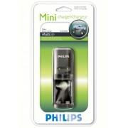 PHILIPS SCB-1200NB Mini - Универсално зарядно у-во за Ni-Cd/Ni-MH батерии