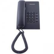 Стационарен телефон Panasonic KX-TS500, Черен, 1010053