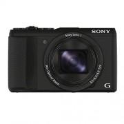 Sony DSC-HX60 CyberShot Digitale camera, 20,4 megapixels, 30x optische zoom, 7,5 cm (3 inch) lcd-display, Exmor R CMOS sensor, NFC/wifi, zwart