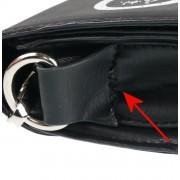 kabelka (taška) POIZEN INDUSTRIES - OCCULT - BLACK - POŠKOZENÁ - MA063
