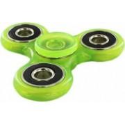 Jucarie Antistres HIT Fidget Spinner Fosforescent Green