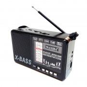 Radio X-BASS 402 cu lanterna, mp3, 3 benzi radio AM/FM/SW , alimentare la 220v