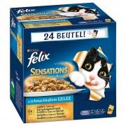 Felix Pakiet Felix Fantastic (So gut wie es aussieht), 48 x 100 g - Mięsne i rybne smaki z warzywami Darmowa Dostawa od 89 zł