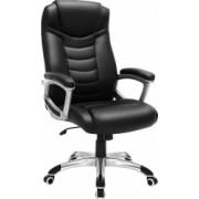 Scaun birou directorial Design ergonomic rotativ reglabil pe inaltime Stabil si durabil Negru