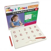 Ivy Step Magnetic Number Tracing Board with Two Stylus Pens