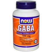 Now Gaba 500mg 100 cápsulas