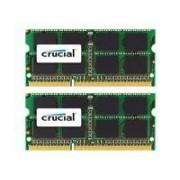 Crucial - DDR3 - 16 Go: 2 x 8 Go - SO DIMM 204 broches - 1600 MHz / PC3-12800 - CL11 - 1.35 / 1.5 V - mémoire sans tampon - non ECC - pour Apple iMac (Après 2011) Mac mini (milieu 2011) MacBook Pro (Après 2011, Début 2011)