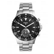 メンズ FOSSIL Q Q CREWMASTER Hybrid Smartwatch スマートウォッチ シルバー