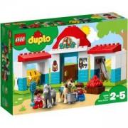 Конструктор Лего Дупло - Конюшня за понита във фермата - LEGO DUPLO Town, 10868