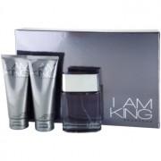 Sean John I Am King coffret II. Eau de Toilette 100 ml + gel de duche 100 ml + bálsamo after shave 100 ml
