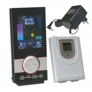LCD bezdrôtový farebný teplomer W159 + čidlo