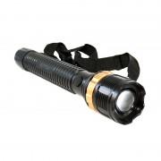Lanterna Lunga Police LED F187 Cu Lupa , Reglaj Zoom si Flash