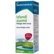 Klosterfrau Izlandi zuzmó köhögés elleni szirup 200ml