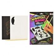 Merkloos Krasfolie regenboog kleuren dier figuur set - Action products