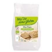 Amestec Bio pentru Paine cu Mei Fara Gluten Ma Vie Sans Gluten 500gr