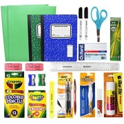 Back To School Basic Classroom Supply Pack (23 Count) School Supply Kit For First