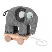 Sebra Virkat Dragdjur Elefant, Grå