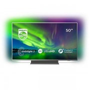 Philips Smart-TV Philips 50PUS7504 50'''' 4K Ultra HD LED WiFi Ambilight Grå