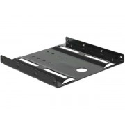 Beépítő keret, SSD/HDD-ez, átalakító 2,5-ról 3,5-ra, DELOCK (DL18205)