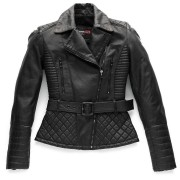 Blauer Trinity Black Ladies MC skinnjacka Svart S