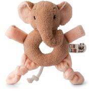 Ebu elefánt, rózsaszín - csörgő