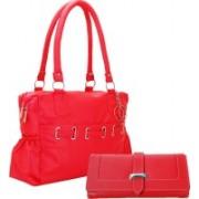 Lady bar Women Fasion Clutch Bag Red Messenger Bag