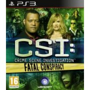 CSI 6 Fatal Conspiracy PS3