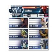 1 csomag Star Wars iskolai etikett 2012