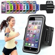Sports Running Jogging Gym Armband Full Body Case for iPhone 6 (Assorted Color) White
