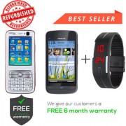 Nokia N73 C5-03 Get Digital Watch